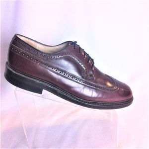 AUSTIN REED Oxford Long Wing Burgundy Shoes 9.5